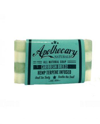 apothecary labs hemp terpene soap caribbean breeze