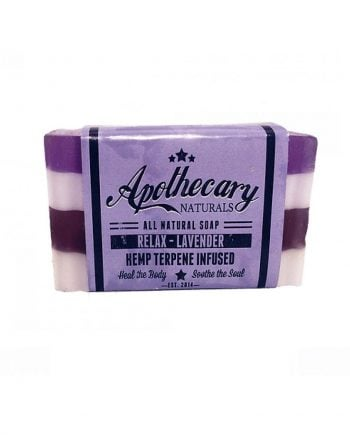 Hemp Terpene Soap - Relax Lavender - Apothecary Labs