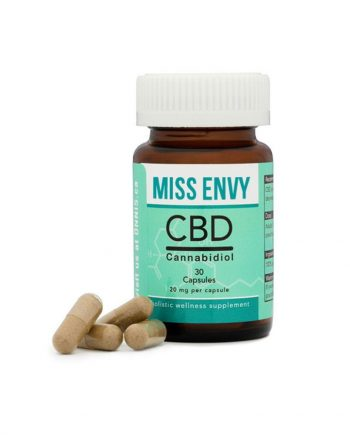 CBD Capsules from Miss Envy