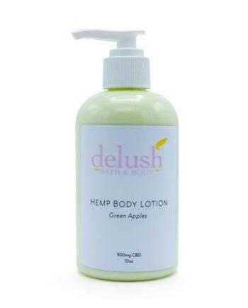 CBD Body Lotion from Delush Bath and Body