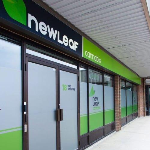 newleaf calgary CBD store